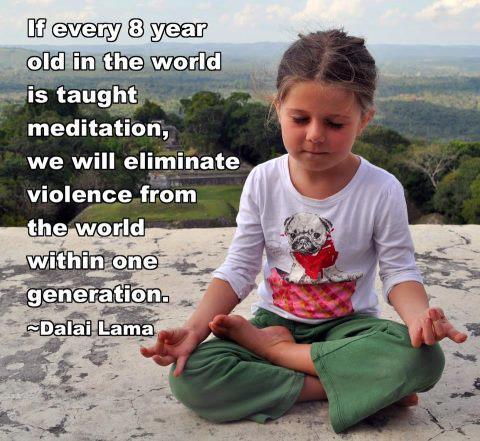 benefits of meditation for kids