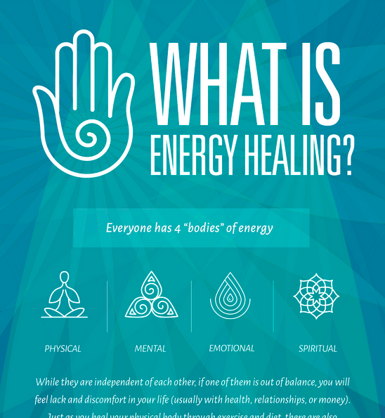 energy healing infographic