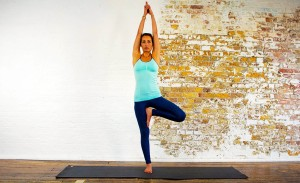 yoga poses tree pose