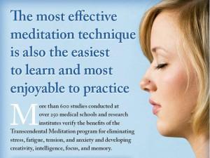 transcendental meditation maharishi effect