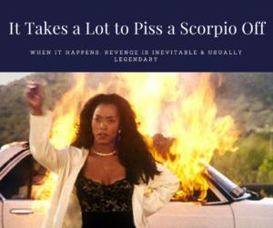 scorpio woman mad