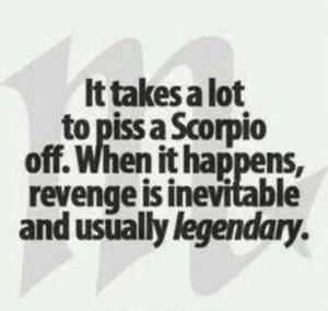 scorpio woman temper