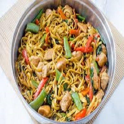 Chinese Chicken Lo Mein