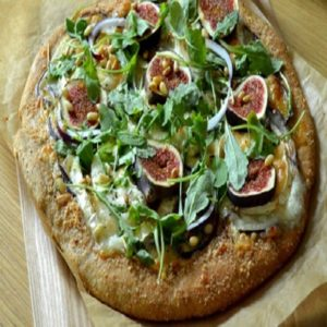 fig and goat cheese pizza