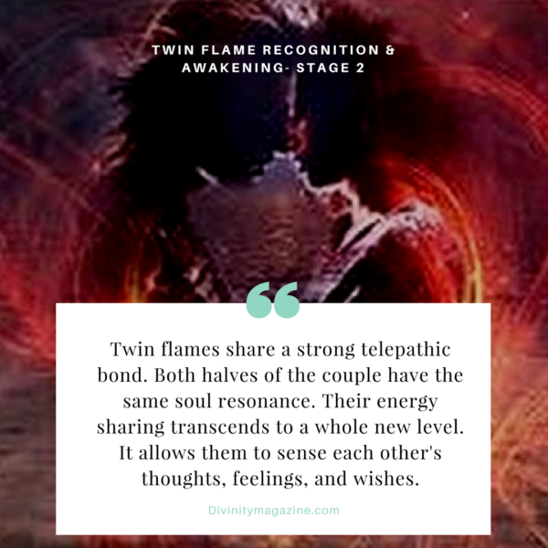 twin flame stage 2 recognition and awakening