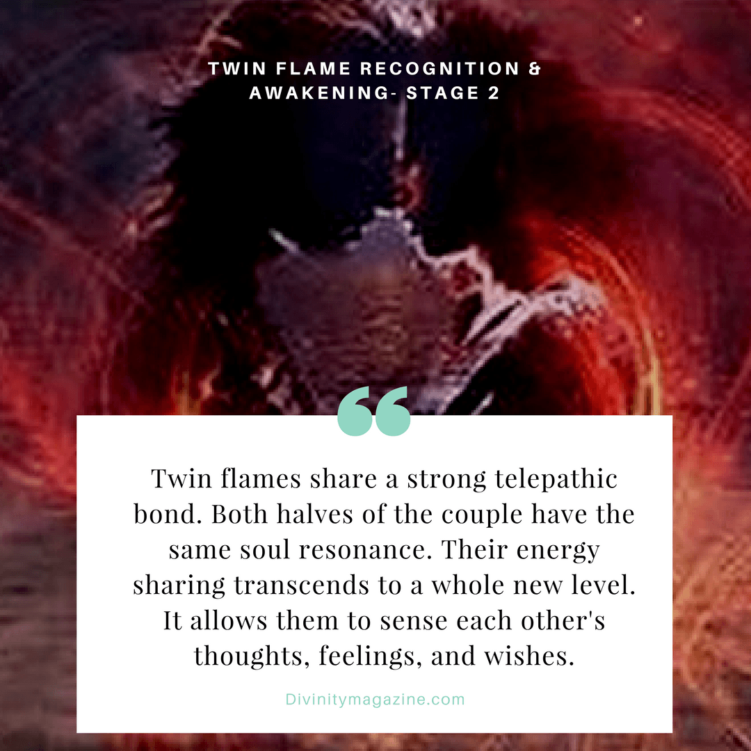 Love Each Other When Two Souls: Twin Flame Stage 2 Recognition And Awakening