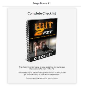 hiit2fit bonus 1