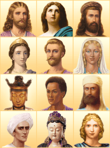 ascended masters of history