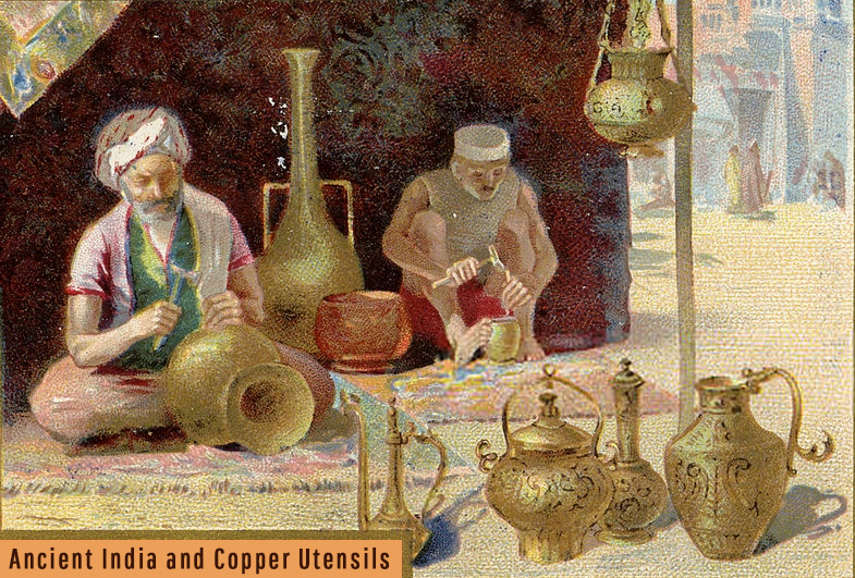 yogic science copper utensils