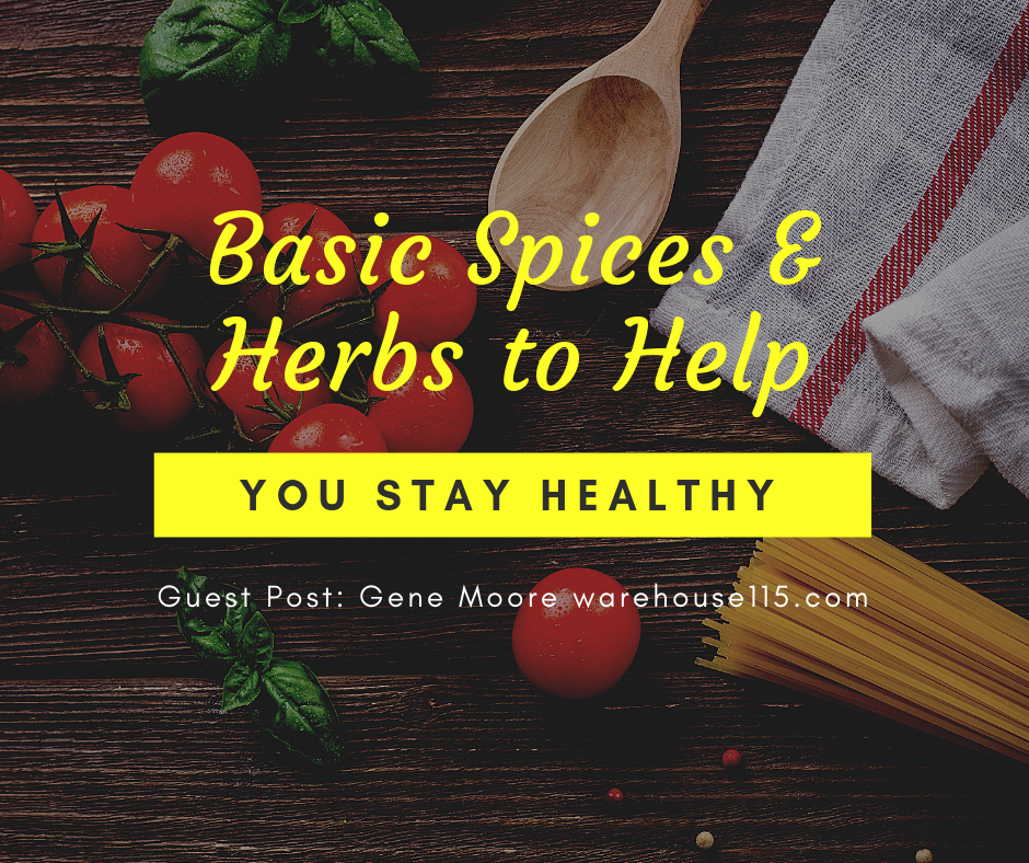 spices and herbs to keep you healthy