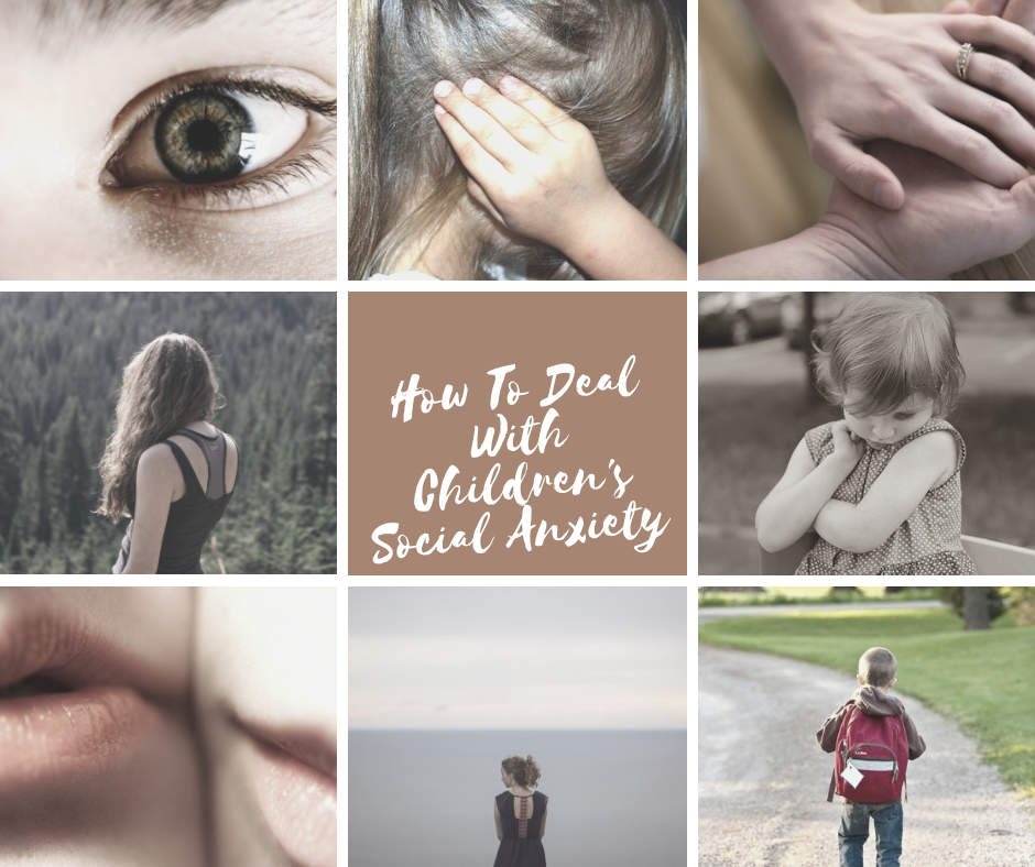 childrens social anxiety