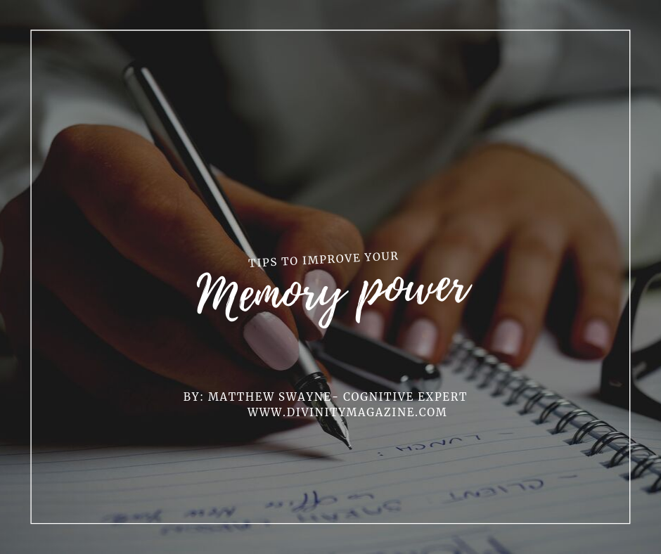 improve your memory power matthew swayne