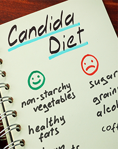 treating candida overgrowth naturally