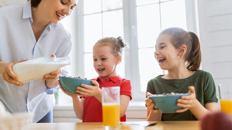 proper nutrition for infants and children